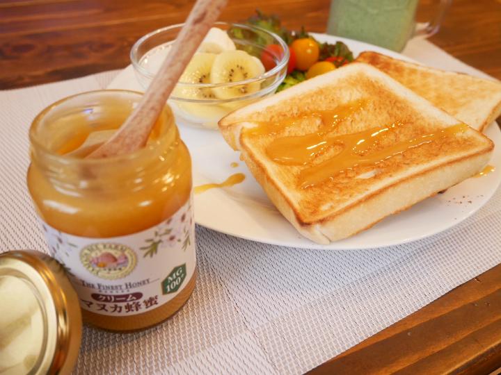 @GIRL_山田養蜂場 クリームマヌカ蜂蜜_miku