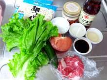 yuuki「冷しゃぶサラダうどん」