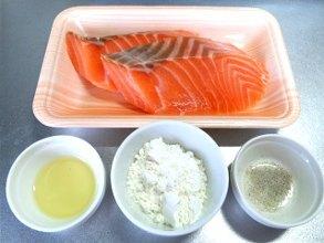 yuuki「鮭のムニエルレモンソース」