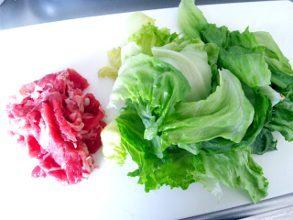yuuki「焼肉レタス炒飯」