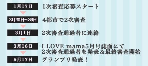 I LOVE mama オーディション