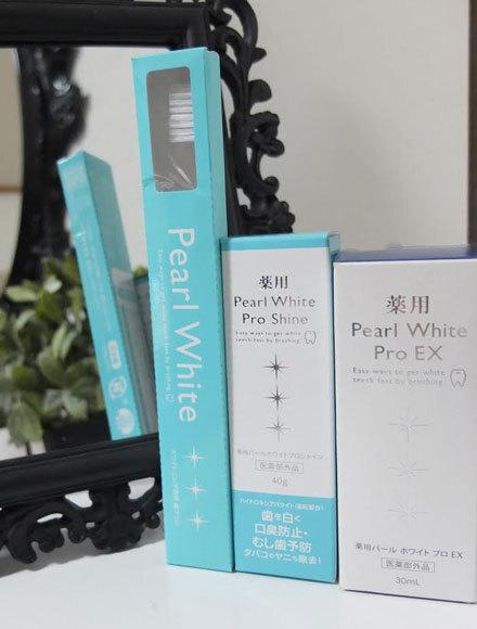 HARUE×Pearl White Pro EX