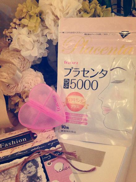 coco×フラコラ プラセンタつぶ5000