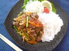 yuuki.「牛肉野菜炒め韓国風」