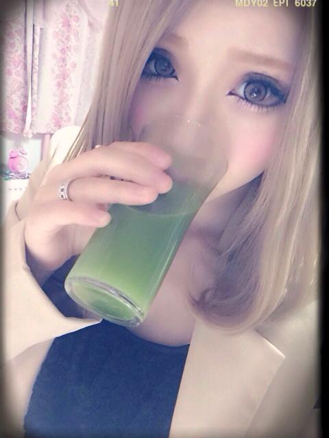 ちいめろ×すっきりフルーツ青汁